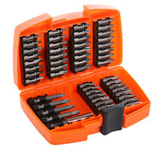 Screwdriver Bit Set, Wellcut 49-Piece Torsion Bits Set for High Torque Drilling