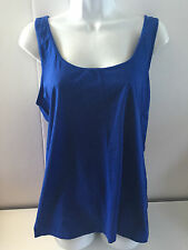 Old Navy womens fitted tank top XXlarge royal blue NEW