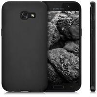 Custodia Cover Back Case Matt per Samsung Galaxy A5 2017 A520 in Silicone Nera