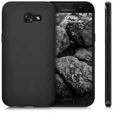 Custodia Cover Back Case Matt per Samsung Galaxy A5 2017 A520 in Silicone Nera