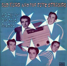 SID KING AND THE FIVE STRINGS - ROCKIN' ON THE RADIO - ROLLERCOASTER - U.K. LP