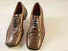 Stacy Adams Mens Oxfords Genuine Snake Skin Leather/Sole Gray Size  9 D