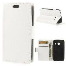Flip Case  Etui Cover Samsung Galaxy Ace Style / SM-G310 weiß