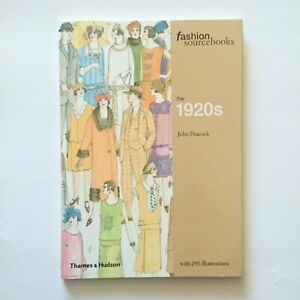 FASHION SOURCEBOOKS Series The 1920s Illustrated Design Vintage Paperback NEW