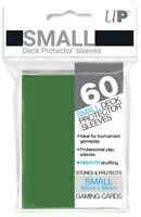 Ultra PRO Small Deck Protector Sleeves Card Size GREEN 60ct 62 x 89mm