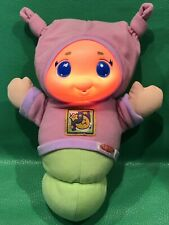 Playskool Gloworm Musical Glow Bug Light-Up Pink Plush Baby Soother Lullaby Worm
