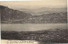 CPA   Aix-les-Bains vu du Sommet du Mont-Revard la Dent du Chat et ...  (173715)