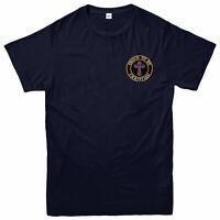 Proud Christian Embroidered T-Shirt, Jesus Christ  Religious Cross Logo T-Shirt