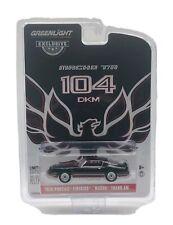 "Greenlight Black 1979 Pontiac Firebird Trans Am ""Macho"" 1:64 Diecast"
