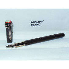 New/Demo Montblanc Heritage Rouge et Noir Fountain Pen Tropic Brown M Nib 116541