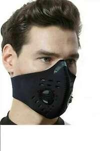 Neoprene Neck Face Mask - Black