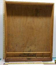 New listing antique dove tail desk drawer