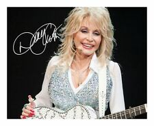 DOLLY PARTON SIGNED AUTOGRAPHED A4 PP PHOTO POSTER