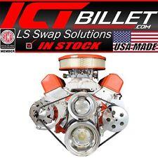 SBC Alternator / Power Steering Pump Accessory Drive Bracket Kit for Double H...