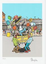 ex libris Margerin - Festival BD de Vigneuxi - n° et signé