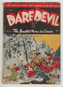 Daredevil #29 (1945) GD Lev Gleason Golden Age Comic