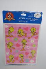 Vintage Hallmark Stickers Sealed Pack LOONEY TUNES Tweety Bird Valentine's Day