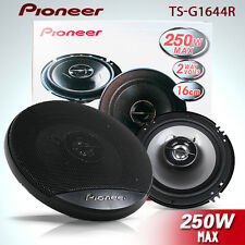 "PIONEER TS-G1644R 6"" G-SERIES 250W FRONT CAR AUDIO STEREO COAXIAL SPEAKER"