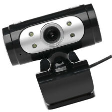 720P PC Webcam Camera Video with Mic Web Cam for Desktops Android Silver