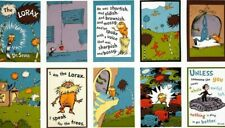 10 Dr. Seuss Lorax Scenes Panels For Quilts Home Decor & Other Projects