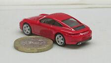 Herpa 028646 Porsche 911 Carrera 4, rouge indien