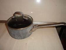 Calphalon 1-1/2 Qt. Hard-Anodized Sauce Pan With Glass Lid