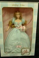 1999 Birthday Wishes Barbie Doll in a Pretty Blue Gown Second In Series 24667