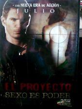 EL PROYECTO SEXO ES PODER (DVD) WORLDWIDE SHIP AVAIL!