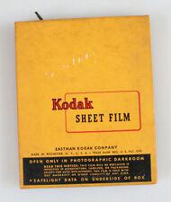 4x5 KODAK PANATOMIC-X SHEET FILM 25 SHEETS UNOPENED EXP. 1952
