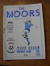 22/08/1989 Moor Green v Burton Albion  (Rusty Staples)