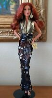 Barbie Christian Louboutin Dolly Forever 2010 Doll Gold Label with extra gowns