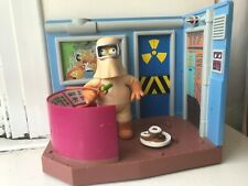 INTERACTIVE ENVIRONMENT THE SIMPSONS NUCLEAR POWER PLANT W/ HOMER FIGURE SET WOS