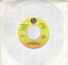TALKING HEADS  And She Was promo 45  DAVID BYRNE