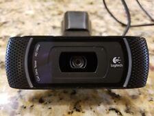 Logitech HD PRO C910 WebCam, V-U0028 Carl Zeiss Tessar Widescreen HD 1080p