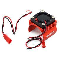 Yeah Racing Red Aluminum 540 Motor Heat Sink W/ Cooling Fan YA-0410RD