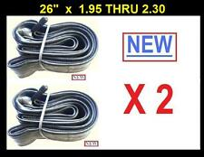 "26"" Bicycle Bike Cycle 26 x 1.95 - 2.30 Inner Tube New x2"