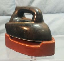 """Vintage Iron and Ironing Board Salt and Pepper Shakers Made in Japan 3.5"""" long"""