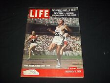 1956 DECEMBER 10 LIFE MAGAZINE - BOBBY MORROW - BEAUTIFUL FRONT COVER - GG 711