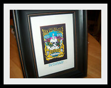 Grateful Dead Vintage Original Framed Concert Ticket New Years Eve 1968 Fillmore