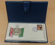 25 Sterlingsilber Dollar Ersttagsbrief Cook Islands Queen Elizabeth II 1977