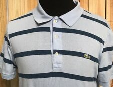 Lacoste Striped Polo Short Sleeve Shirt Size 3 Boys