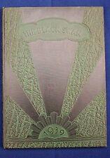 1939 William Byrd High School Yearbook Vinton VA