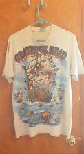New listing Vintage Grateful Dead 1993 Ship of Fools Rare White liquid blue shirt Usa gdm Xl