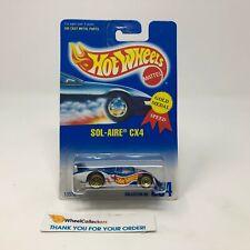 Sol-Aire CX4 #254 * Blue * Hot Wheels Blue Card * NA54