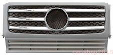 W463 90-12 Front Grille Mercedes Benz G-Class G500 G550 G55 AMG Chrome & Primed