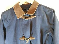 Denim & Co Size Medium Ladies Winter Barn Jacket Coat Pockets 100% Cotton