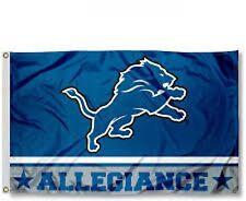 Detroit Lions Flag 3x5FT Large