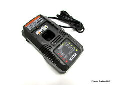 Ryobi 18 Volt 18V Standard & Lithium Ion Cordless Battery Charger P118 BRAND NEW
