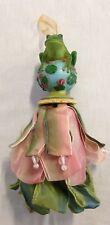 """Kelly Paulk Silvestri Frog Tassel Ornament Decor 6"""""""