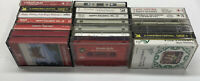 20 Christmas Cassette Tapes Country, Classical, Instrumental, Big Band, Jazz